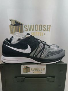 Details about Nike Flyknit Trainer Running Black White Oreo 2018 AH8396-005  Size 13 Air Max df2eb125b