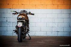 "BMW K75 Cafe Racer ""Tuatara"" Moto Sumisura #motorcycles #caferacer #motos | caferacerpasion.com"