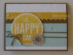 Not these colors,but the layout!   My Blog http://rubberredneck.typepad.com/rubber-redneck/2014/06/starburst-sayings-happy-day-card.html