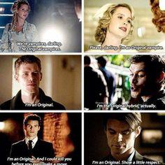 Rebekah, Elijah and Klaus. The Originals in case you missed it :)