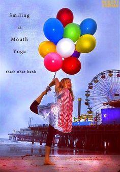 asana-bliss: Smiling is mouth yoga :) Kathryn Budig