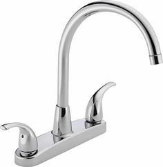 Peerless Two Handle Chrome Kitchen Faucet