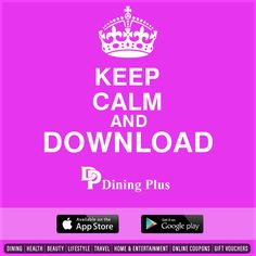 Get the latest promotions and discounts on your favorite brands on the Dining plus App.