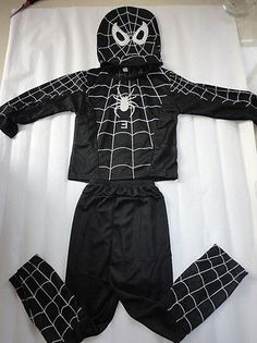 Kids new boy black spiderman 3 #venom #costume mask #outfit xmas halloween cospla,  View more on the LINK: http://www.zeppy.io/product/gb/2/271536594781/