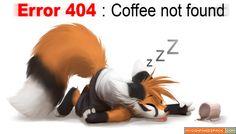 error 404 coffee not found - Google Search