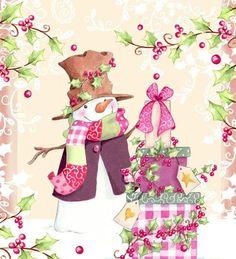 . pink christmas