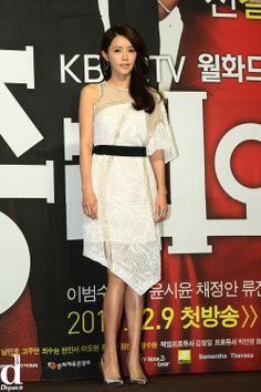 Chae Jung-An 채정안 KBS 2TV 월화드라마 '총리와 나' 제작발표회