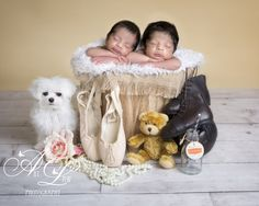 #newborn twin photography West London