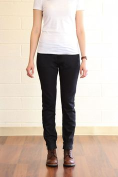 Railcar Fine Goods : Black Jeans Made in USA