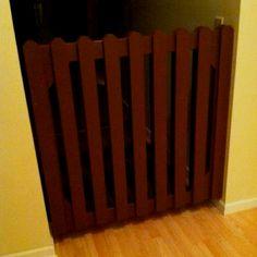 Homemade Dog Gate by CJ   # Pin++ for Pinterest #