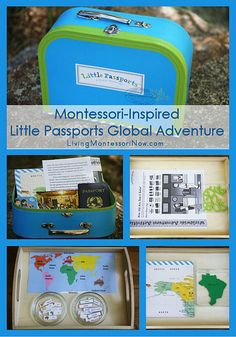 Montessori-Inspired Little Passports Global Adventure (Montessori-inspired continent activities to go with the first Little Passports package)