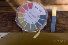 Riihivilla, Dyeing with natural dyes: Wood ash lye for dyeing Tuhkalipeää värjäykseen