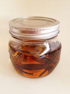 Homemade Vanilla Extract - vanilla beans soaked in vodka – The Larissa Monologues