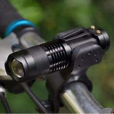 Cheap zoom flashlight, Buy Quality flashlight led directly from China lampe torche Suppliers: Bicycle Light 7 Watt 2000 Lumens 3 Mode Bike LED cycling Front Light Bike lights Lamp Torch Waterproof ZOOM flashlight Led Batterie Rechargeable, Mini Flashlights, Bicycle Lights, Bike Light, Light Flashlight, Torch Light, Gadget Gifts, Clip