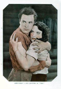 James Murray and Joan Crawford in ROSE MARIE (1928) - (A SCENA MUDA, September 13, 1928, Rio de Janeiro, Brazil)