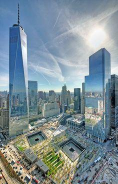 New York City, World Trade Center was hit by terrorist year called NYC New York City Travel Honeymoon Backpack Backpacking Vacation One World Trade Center, Trade Centre, Memorial World Trade Center, Ground Zero Nyc, Photographie New York, New York City, Ville New York, Ellis Island, New York Travel