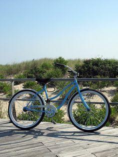 Bike on Ocean Grove, NJ, Boardwalk