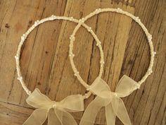 Dreaming Creations: Φεβρουάριος 2014 Best Friend Wedding, My Best Friend, Grapevine Wreath, Getting Married, Dream Wedding, Wreaths, Pearls, Blog, Wedding Crowns