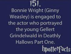 harry potter facts - bonnie! ;-)