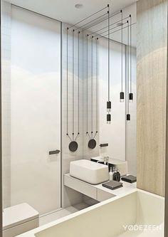 Bathroom - Family Estate in Krakow Poland by Yodezeen