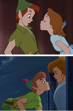 It makes me sad that Peter and Wendy never ended up together.