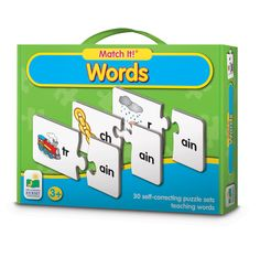 The Learning Journey Match It! - Words Card Game, Multi