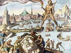 Informações sobre a gigante estátua do deus sol Hélios, conhecida como Colosso de Rodes, na Grécia. Aprenda mais sobre a história deste monumento perdido.
