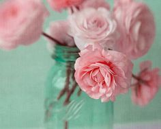 A handful of pink ranunculus in a turquoise mason jar. Romantic.  I will print the photograph on archival matte fine art paper with pigmented chroma inks. Sizes: 8 x 10, 11 x 14 (photo 1)  5 x 7 (photo 2)  4 x 6, 6 x 9, 12 x 18 (photo 3) If you need a larger size contact me. I also offer discounts on the purchase of multiple prints See my listings in Other Sizes and Specials: http://www.etsy.com/shop/JudyStalus?section_id=5798289  ************************************...