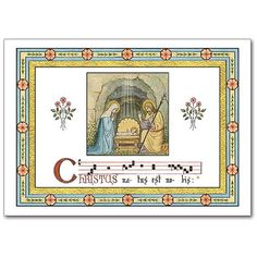 For Catholic Christmas Cards Inspired by the Monks of Conception Abbey, Check Out the Printery House at http://www.printeryhouse.org/. Card Shown Features Hand-Done Lettering. #printeryhouse