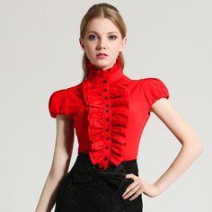 Barato Novo 2014 moda blusas e camisas Slim sólidos completa Shirt Floral mulheres blusa Tops roupas de manga curta camisa, Compro Qualidade Blusas diretamente de fornecedores da China:           &n