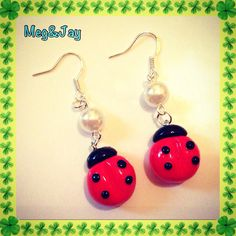 Fimo earrings :)