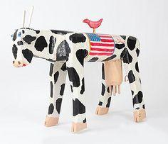 "Ky Folk Art - ""Miss America"" - by: Ronald & Jessie Cooper #folk #art"
