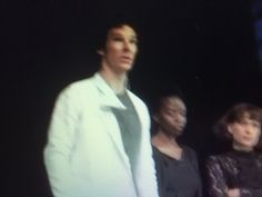 """Actor Benedict Cumberbatch is giving a short, passionate speech each night at the curtain call after his performance in Hamlet at the Barbican, appealing for support for Syrian refugees. There are over 11 million of them, he says, More than 200,000 have died making the perilious journey to Europe. Cumberbatch speaks of a friend who has just come back from the island of Lesbos where she saw: """"'Everywhere on the horizon there was nothing but boats and on the shoreline nothing but lifejackets'…"""