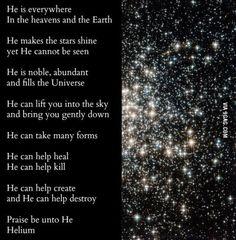 He is everywhere. Praise be unto him.