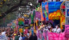 Mardi Gras Parade Tickets for the Grand Stand on St. Charles Avenue near Gallier Hall.