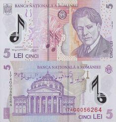 Romania 5 Lei 2017