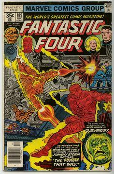 Fantastic Four - December 1977 Issue - Marvel Comics - Grade NM Marvel Comic Books, Comic Books Art, Comic Art, Book Art, Marvel Characters, Fantastic Four Comics, Mister Fantastic, Old Comics, Vintage Comics