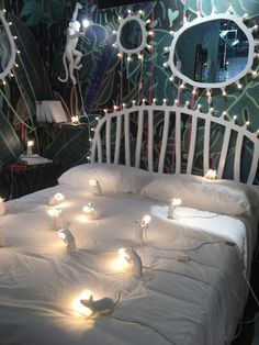 Corner de la marque Seletti sur le salon Maison&Objet 2017 #mouse #lamp #monkey #white #jungle #junglebook #bedroom #interiordesign #inspiration #inspirationfurniture #seletti #style #fashion