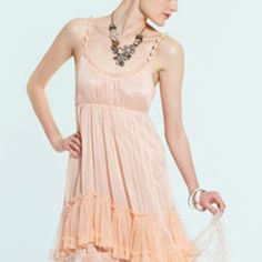 RYU Tulle Ruffle Bottom Dress