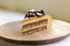 Step-by-step guide to a beautiful eclipse espresso caramel entremet (multi layer mousse cake) using a Silikomart mold. Delicious and fancy! Receita Trifle, Espresso And Cream, Creamed Honey, Mousse Cake, Baking Pans, Pistachio, Donuts, Cake Recipes, Raspberry