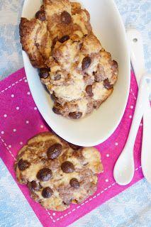 marmorierte Chocolatecip-Cookies