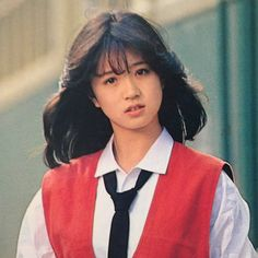 Pin on 中森明菜 Aesthetic Japan, Korean Aesthetic, Pose Reference Photo, Fresh Hair, Japanese Street Fashion, Japan Fashion, Kawaii Girl, Vintage Girls, Ulzzang Girl