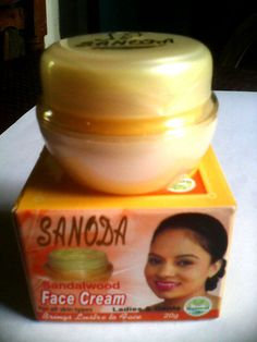 5 Sold! More Available!!Sanoda  Herbal Sandal Face Cream 20g Shining Golden Skin With Sun Protection #Sanoda
