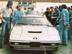 The BMW M1 Prototype Built By Lamborghini Was Found In A Barn