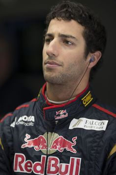 Daniel Ricciardo of Australia and Scuderia Toro Rosso prepares to drive during practice for the Chinese Formula One Grand Prix at the Shanghai International Circuit on April 12, 2013 in Shanghai, China. (April 11, 2013 - Source: Peter Fox/Getty Images AsiaPac) ::: F1 Grand Prix of China: Practice :::