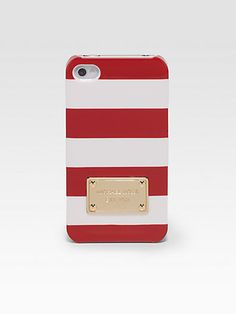 MICHAEL KORS Striped Hardcase for iPhone
