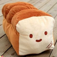A loaf of bread pillow! :)