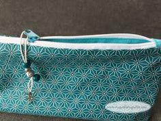 Coudre une trousse doublée zippée avec coins parfaits : tuto couture facile, débutant - YouTube