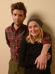 Amy Poehler And Adam Scott