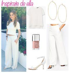 Maria Menounos en un outfit blanco Mayo 2016